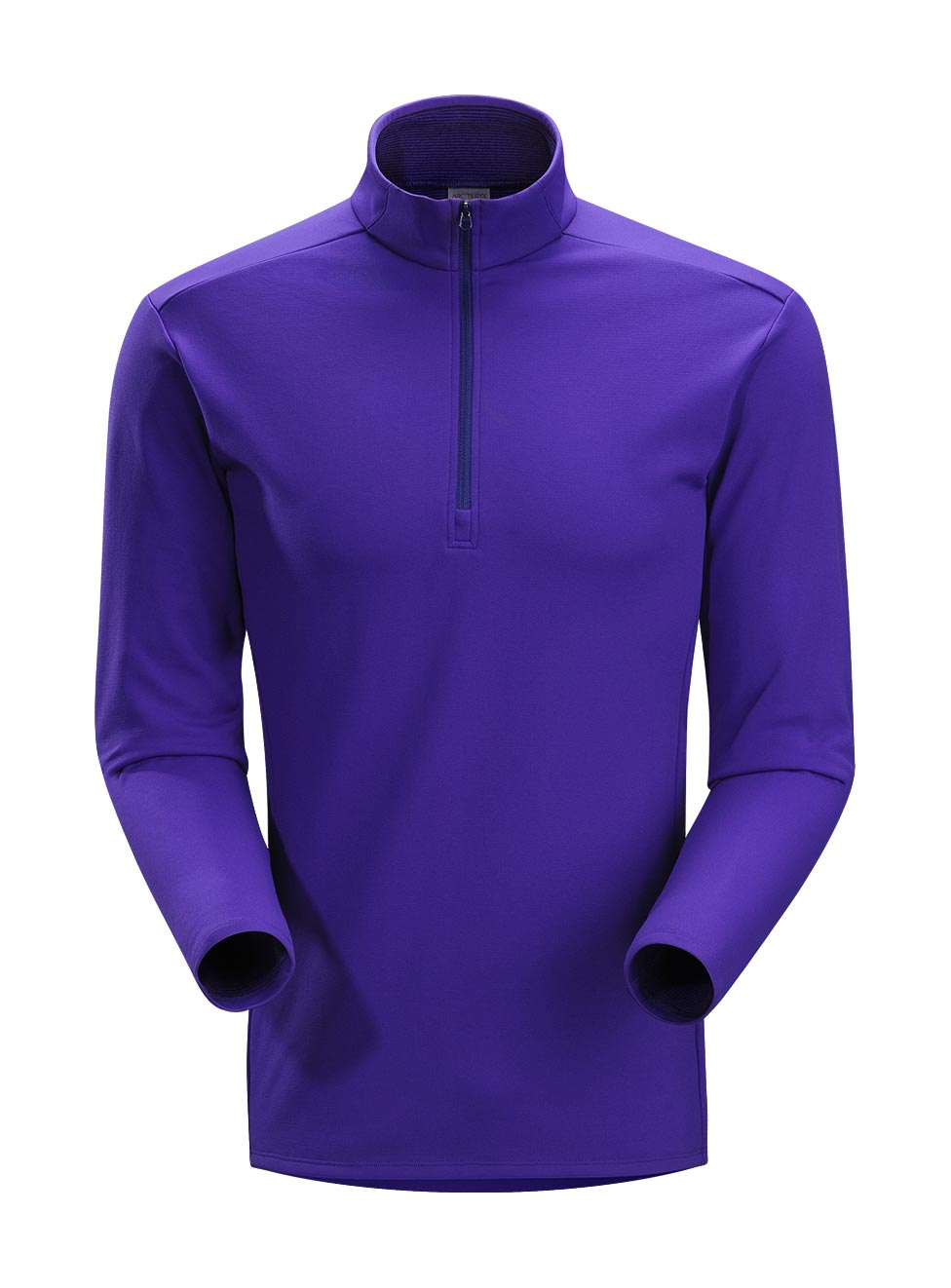 Arcteryx Blue Galaxy Phase SV Zip Neck LS